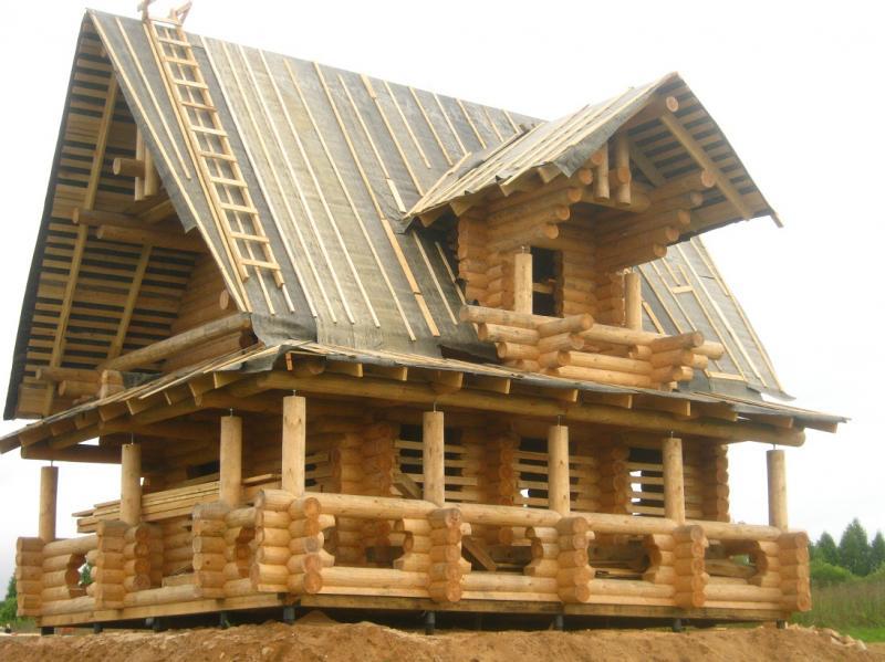 Дома из архангельской сосны фото